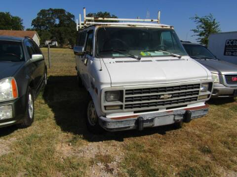 1994 Chevrolet Chevy Van for sale at Hill Top Sales in Brenham TX