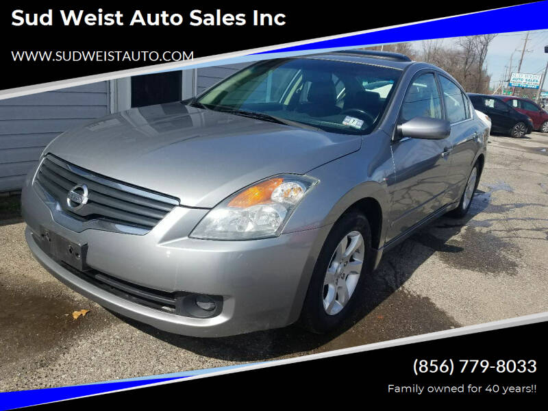 2008 Nissan Altima for sale at Sud Weist Auto Sales Inc in Maple Shade NJ
