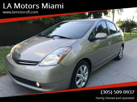 2009 Toyota Prius for sale at LA Motors Miami in Miami FL
