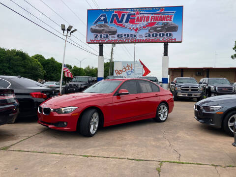 2013 BMW 3 Series for sale at ANF AUTO FINANCE in Houston TX