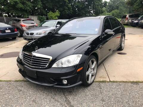 2008 Mercedes-Benz S-Class for sale at Barga Motors in Tewksbury MA