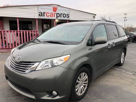 2011 Toyota Sienna for sale at Arkansas Car Pros in Cabot AR