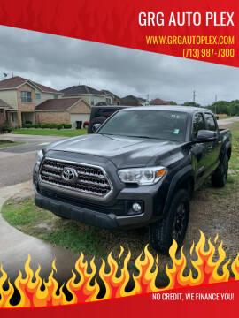 2018 Toyota Tacoma for sale at GRG Auto Plex in Houston TX