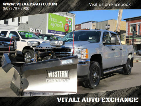 2014 Chevrolet Silverado 3500HD for sale at VITALI AUTO EXCHANGE in Johnson City NY
