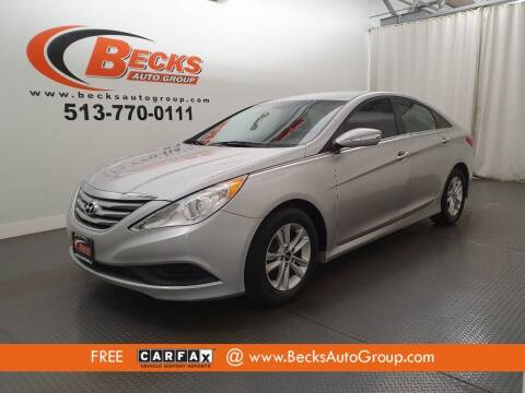 2014 Hyundai Sonata for sale at Becks Auto Group in Mason OH