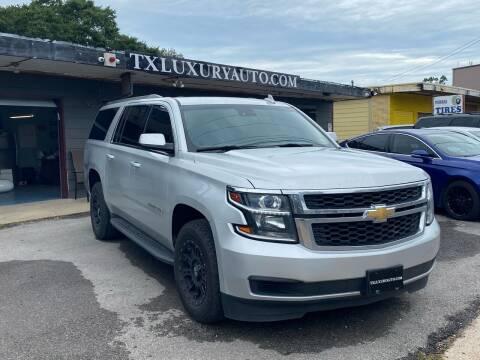 2016 Chevrolet Suburban for sale at Texas Luxury Auto in Houston TX
