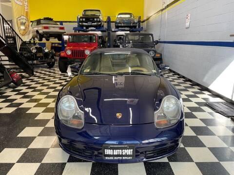 2002 Porsche Boxster for sale at Euro Auto Sport in Chantilly VA