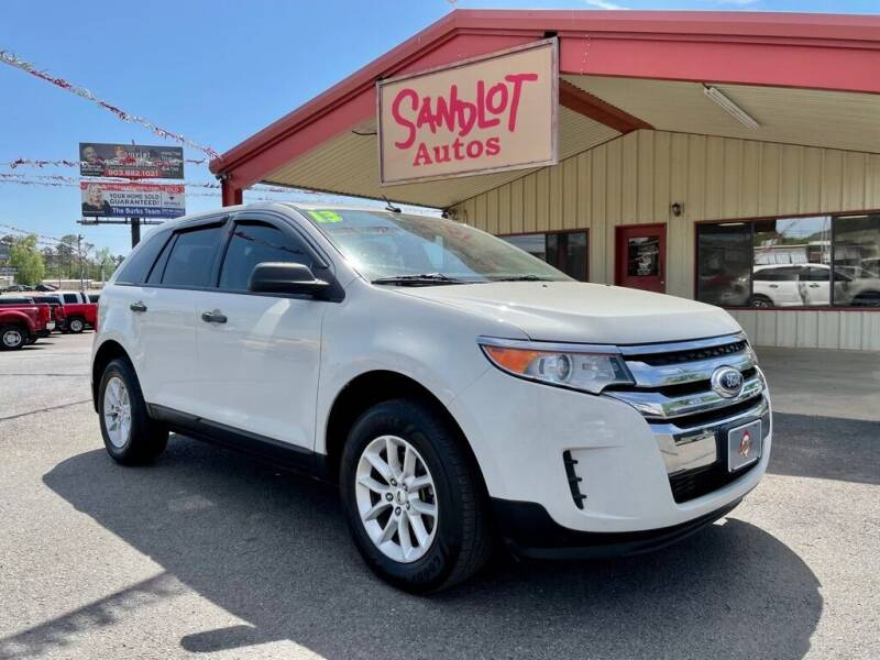 2013 Ford Edge for sale at Sandlot Autos in Tyler TX