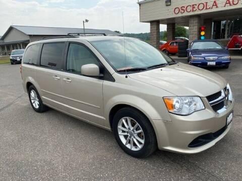 2013 Dodge Grand Caravan for sale at Osceola Auto Sales and Service in Osceola WI