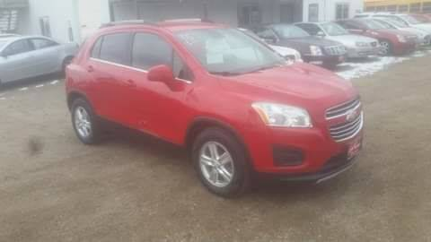 2015 Chevrolet Trax for sale at Ron Lowman Motors Minot in Minot ND