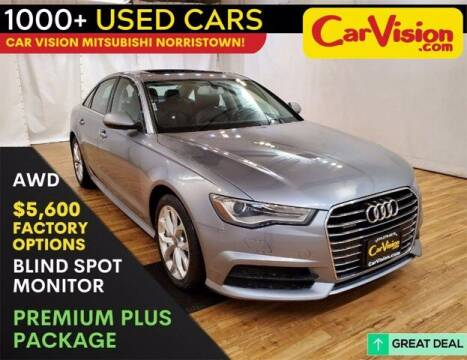 2017 Audi A6 for sale at Car Vision Buying Center in Norristown PA