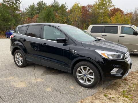 2017 Ford Escape for sale at Downeast Auto Inc in South Waterboro ME