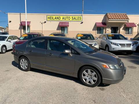 2008 Honda Civic for sale at HEILAND AUTO SALES in Oceano CA