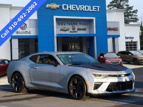 2018 Chevrolet Camaro for sale at PHIL SMITH AUTOMOTIVE GROUP - SOUTHERN PINES GM in Southern Pines NC