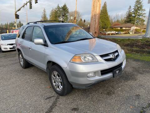 2006 Acura MDX for sale at KARMA AUTO SALES in Federal Way WA