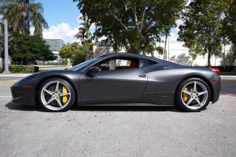 2010 Ferrari 458 Italia for sale at PERFORMANCE AUTO WHOLESALERS in Miami FL