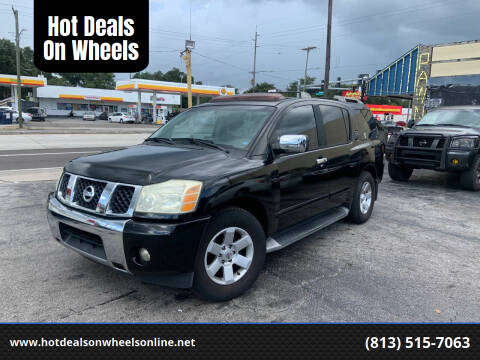 2004 Nissan Armada for sale at Hot Deals On Wheels in Tampa FL