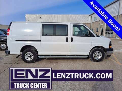 2018 GMC Savana Cargo for sale at LENZ TRUCK CENTER in Fond Du Lac WI