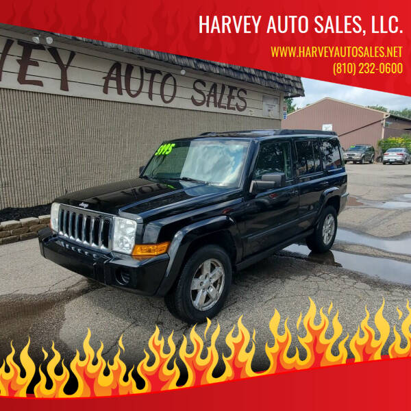2007 Jeep Commander for sale at Harvey Auto Sales, LLC. in Flint MI