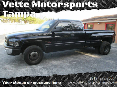 1997 Dodge Ram Pickup 3500 for sale at Auto Liquidators of Tampa in Tampa FL