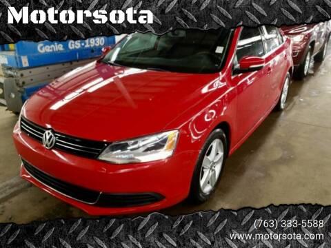 2013 Volkswagen Jetta for sale at Motorsota in Becker MN
