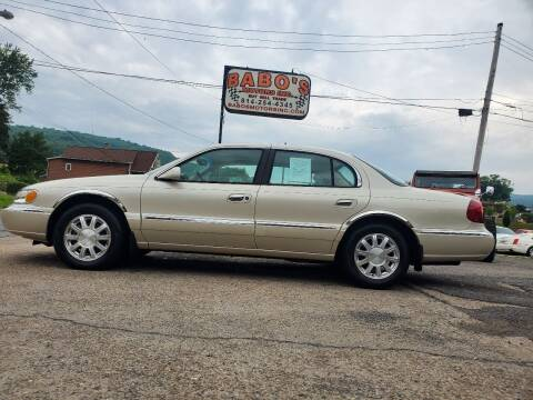 2002 Lincoln Continental for sale at BABO'S MOTORS INC in Johnstown PA