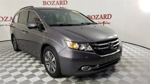 2015 Honda Odyssey for sale at BOZARD FORD in Saint Augustine FL