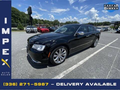2019 Chrysler 300 for sale at Impex Auto Sales in Greensboro NC