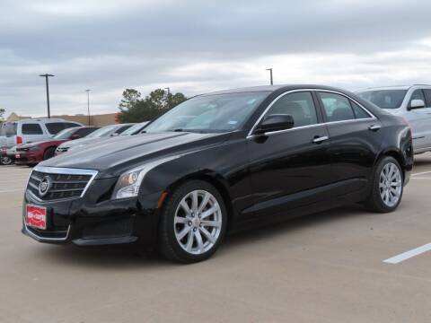 2014 Cadillac ATS for sale at Ron Carter  Clear Lake Used Cars in Houston TX