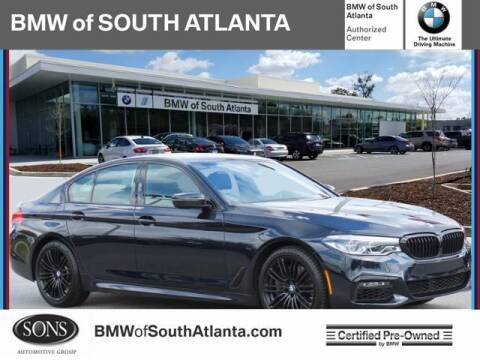 2019 BMW 5 Series for sale at Carol Benner @ BMW of South Atlanta in Union City GA