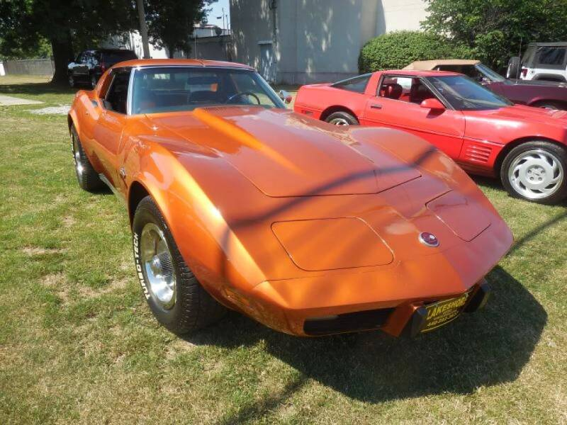 1975 Chevrolet Corvette for sale at Lakeshore Auto Wholesalers in Amherst OH