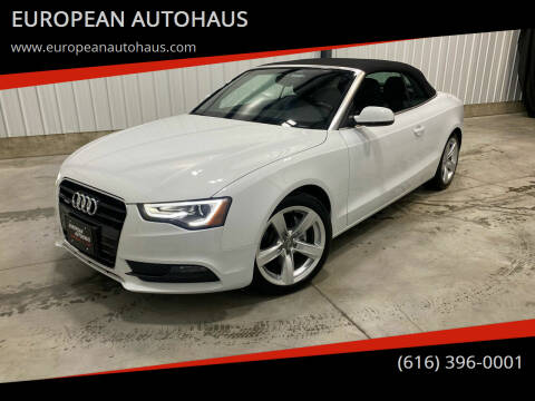 2013 Audi A5 for sale at EUROPEAN AUTOHAUS in Holland MI