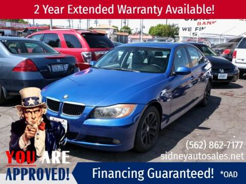 2007 BMW 3 Series for sale at Sidney Auto Sales in Downey CA