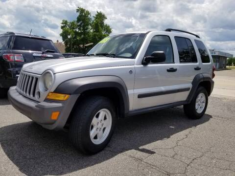 2007 Jeep Liberty for sale at DALE'S AUTO INC in Mt Clemens MI
