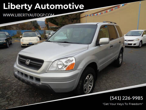 2004 Honda Pilot for sale at Liberty Automotive in Grants Pass OR