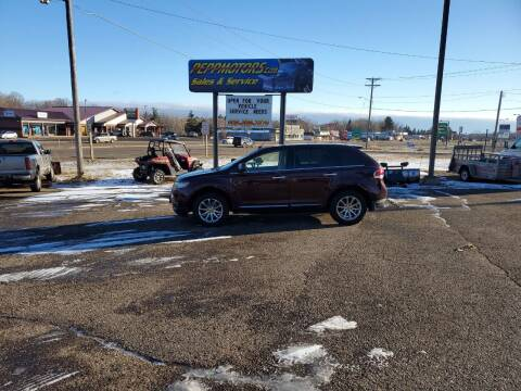 2011 Lincoln MKX for sale at Pepp Motors in Marquette MI