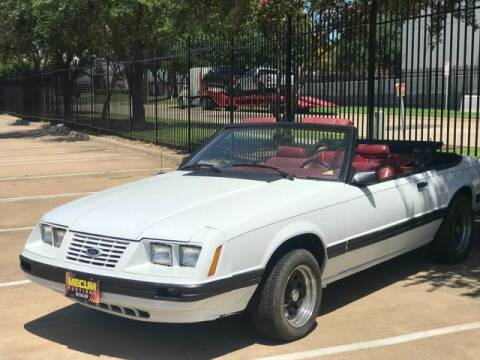1984 Ford Mustang for sale at Schneck Motor Company in Plano TX