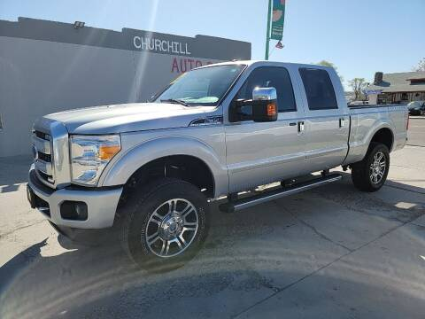 2015 Ford F-350 Super Duty for sale at CHURCHILL AUTO SALES in Fallon NV