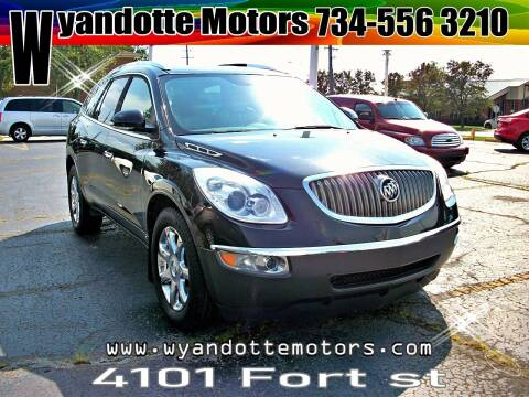 2008 Buick Enclave for sale at Wyandotte Motors in Wyandotte MI