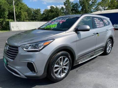 2017 Hyundai Santa Fe for sale at FREDDY'S BIG LOT in Delaware OH
