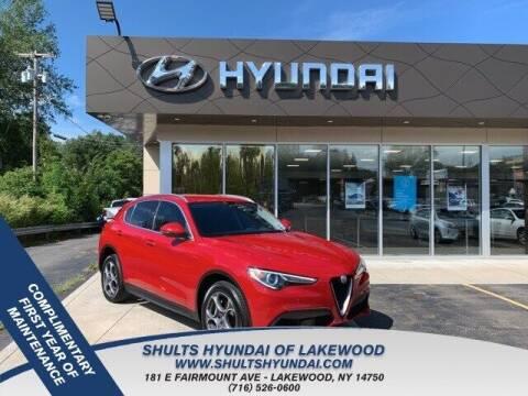 2018 Alfa Romeo Stelvio for sale at Shults Hyundai in Lakewood NY