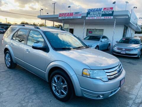 2008 Ford Taurus X for sale at Dream Motors in Sacramento CA
