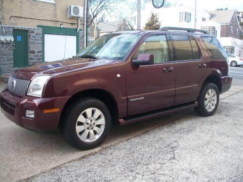 2008 Mercury Mountaineer for sale at J Michaels Auto Sales Inc in Philadelphia PA