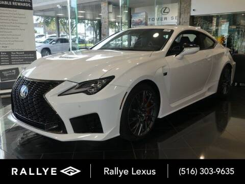 2020 Lexus RC F for sale at RALLYE LEXUS in Glen Cove NY