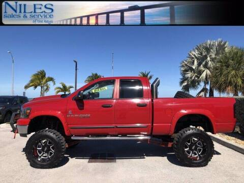 2006 Dodge Ram Pickup 2500 for sale at Niles Sales and Service in Key West FL
