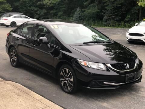 2013 Honda Civic for sale at Elite Auto Sales in North Dartmouth MA
