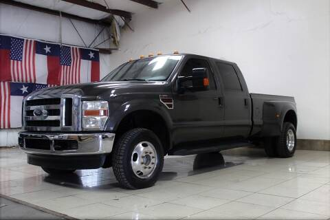2008 Ford F-350 Super Duty for sale at ROADSTERS AUTO in Houston TX