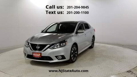 2018 Nissan Sentra for sale at NJ State Auto Used Cars in Jersey City NJ