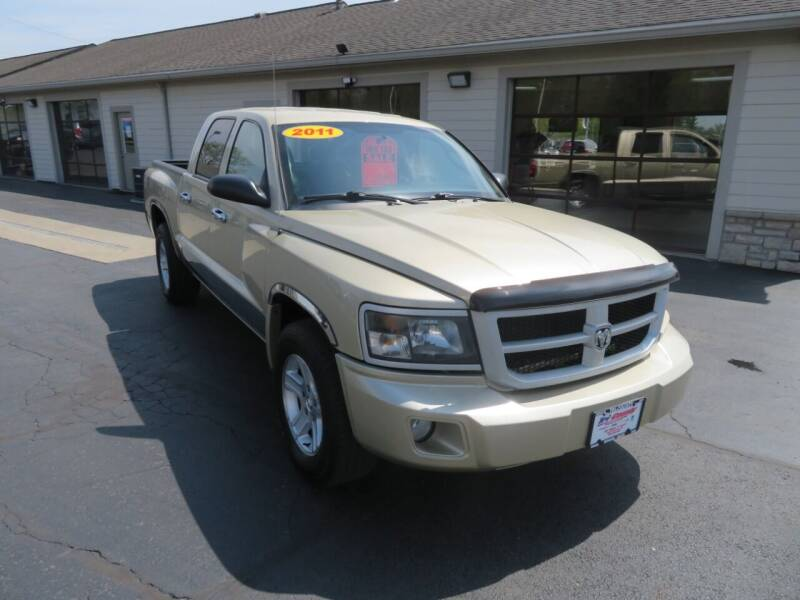 2011 RAM Dakota for sale at Tri-County Pre-Owned Superstore in Reynoldsburg OH