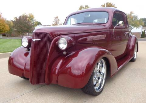 1937 Chevrolet Master Deluxe for sale at WEST PORT AUTO CENTER INC in Fenton MO